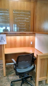 Library carrel option A