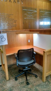 Library carrel option B